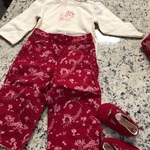 Collection of girls Gymboree clothes